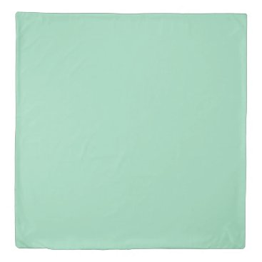 USA Themed Mint Green Queen Size Duvet Cover