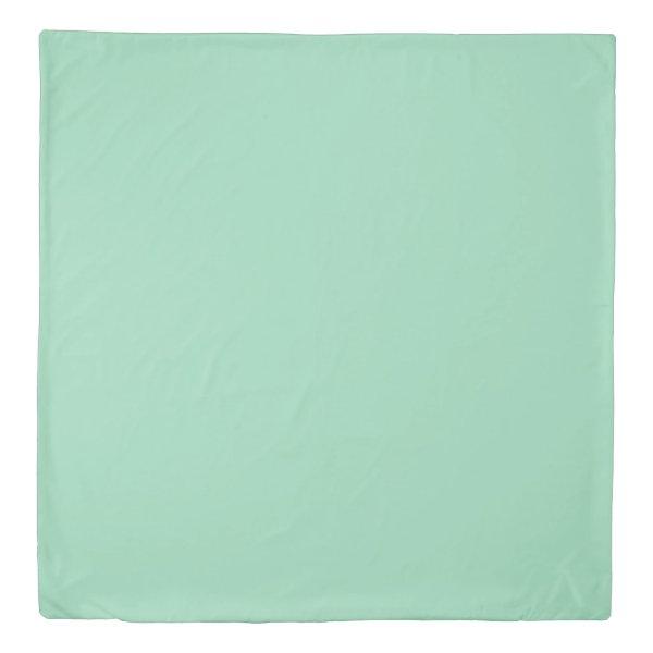 Mint Green Queen Size Duvet Cover