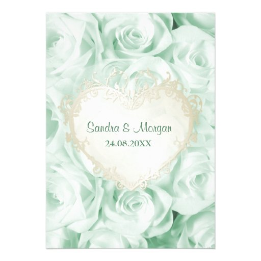 Mint Green Wedding Invites as awesome invitation ideas