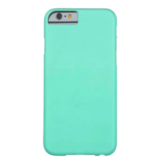 Mint Green Solid Fashion Color iPhone 6 Case