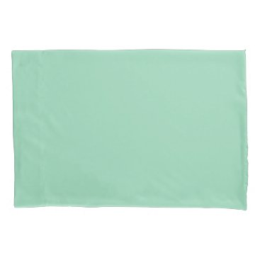 USA Themed Mint Green Standard Sized Single Pillowcase