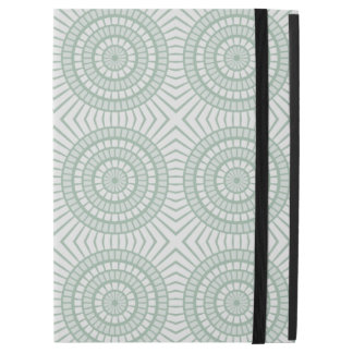 Mint Green Tiled Circles iPad Pro Case