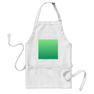 Mint Green to Shamrock Green Horizontal Gradient Apron