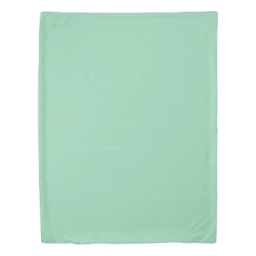 USA Themed Mint Green Twin Size Duvet Cover
