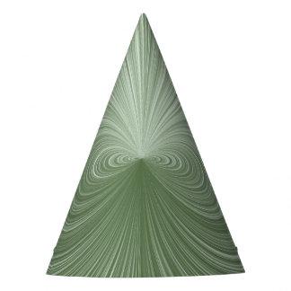 Mint Green Vortex Party Hat
