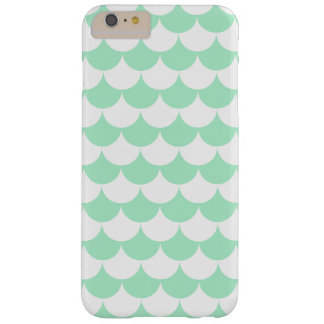Mint Green Waves Pattern Nautical Barely There iPhone 6 Plus Case