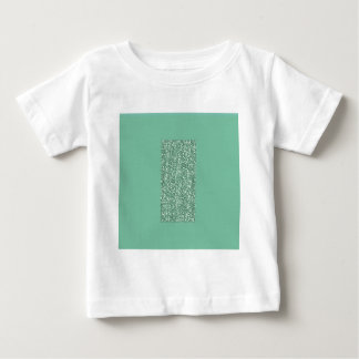 Mint Green with faux glitter Tshirt