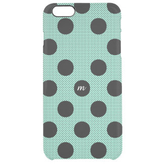 Mint Halftone Dots Uncommon Clearly™ Deflector iPhone 6 Plus Case