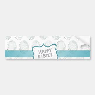 mint happy easter bumper sticker