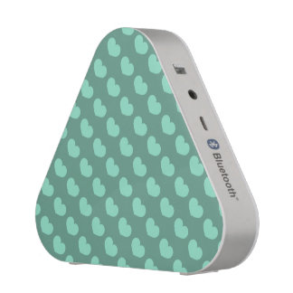 Mint Heart Candy Design Change Background Color Bluetooth Speaker