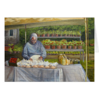 """Mint Hill Market"" Card"