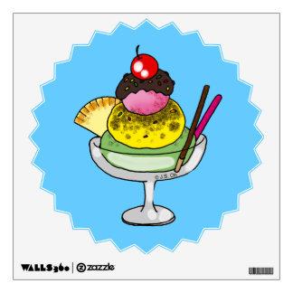 mint ice cream wall sticker