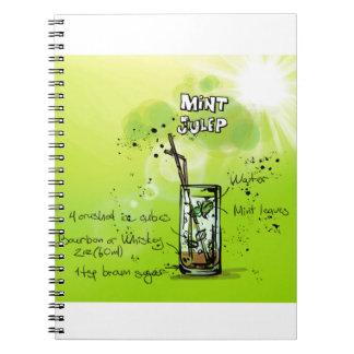 Mint Julep - Cocktail Gift Notebook