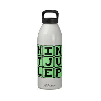 Mint Julep, Minty Beverage Drinking Bottles