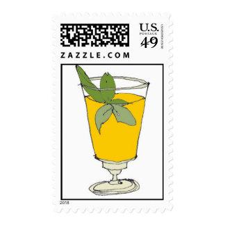 mint julep postage stamp
