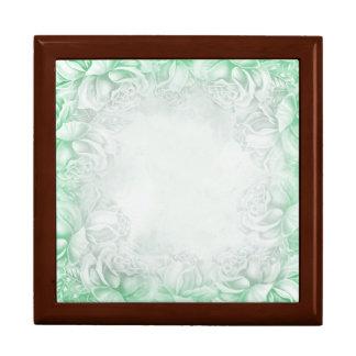 Mint Kawaii Violet Light Green Keepsake Box