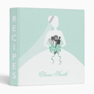 Mint Kitchen Bridal shower Recipe Folder