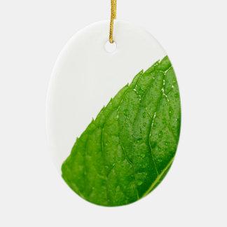 Mint Leaf Ornaments