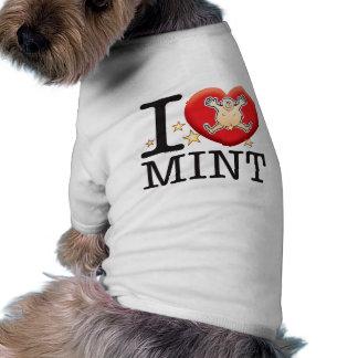 Mint Love Man Shirt