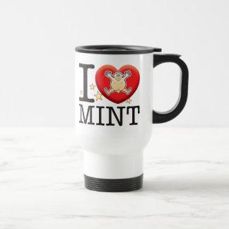 Mint Love Man Travel Mug