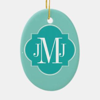 Mint Mint Green Solid Color Ceramic Ornament