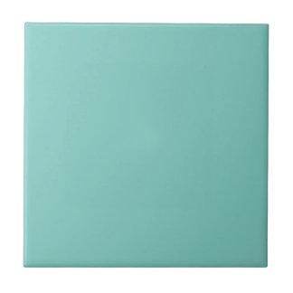 Mint Mint Green Solid Color Ceramic Tile