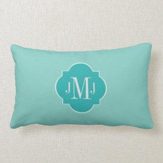Mint Mint Green Solid Color Lumbar Pillow