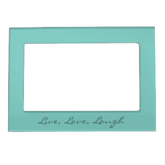 Mint Mint Green Solid Color Magnetic Picture Frame