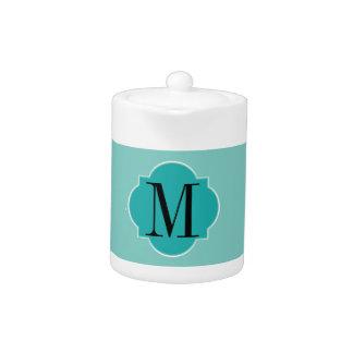 Mint Mint Green Solid Color Teapot