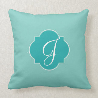 Mint Mint Green Solid Color Throw Pillow