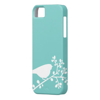 Mint Mod Birds and Berries {pick your color} iPhone SE/5/5s Case