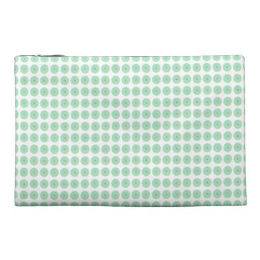 Professional Business Mint-Mod-Flora-Stylish-Cosmetic-Travel-Accessories Travel Accessory Bag