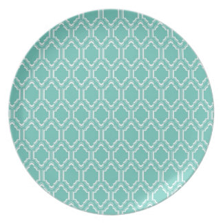 Mint Moroccan Party Plate