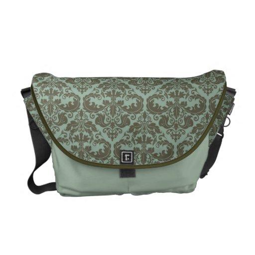 Mint & Moss Dasmask Pattern Messenget Bag Messenger Bag