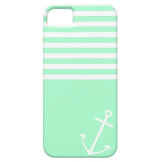 Mint Nautical iPhone 5 Cases
