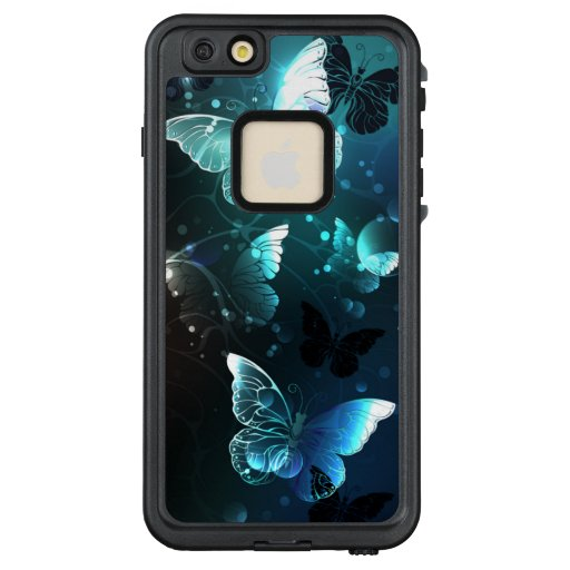 Mint Night Butterflies LifeProof FRĒ iPhone 6/6s Plus Case