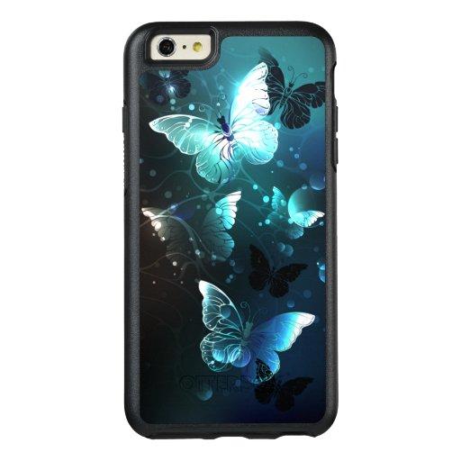Mint Night Butterflies OtterBox iPhone 6/6s Plus Case