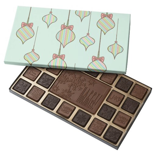 Mint Ornaments Box of Chocolates 45 Piece Assorted Chocolate Box