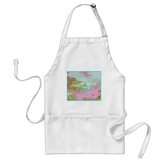 Mint pint colorful oil abstract gentle kind adult apron