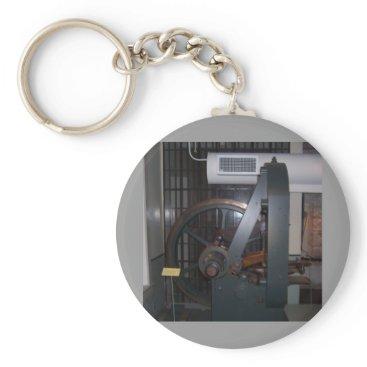 USA Themed Mint Press Keychain