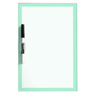 Mint Solid Color Dry-Erase Board