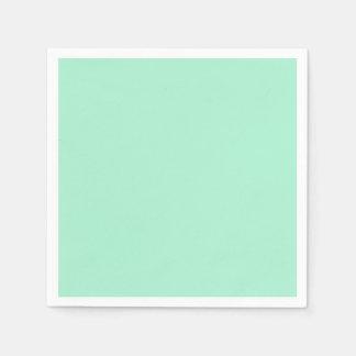 Mint Solid Color Standard Cocktail Napkin