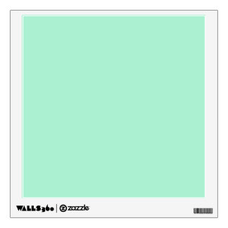 Mint Solid Color Room Sticker