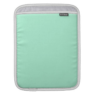 Mint Solid Color Sleeve For iPads