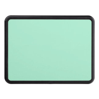 Mint Solid Color Trailer Hitch Covers