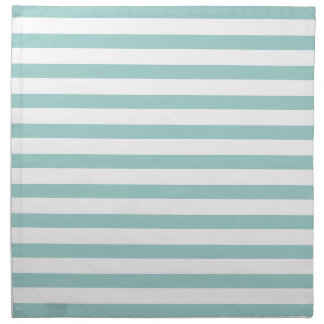Mint Stripes Pattern Napkin