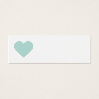 Mint Sweet Heart & Chevron Gift Tags