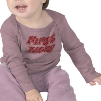 Mint Sweetie First Xmas Baby Shirt