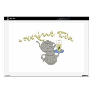 "Mint Tea 17"" Laptop Skin"