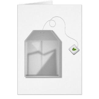 Mint Tea Bag Note Cards